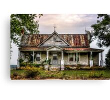 Tin Roof......RUSTED!  Canvas Print