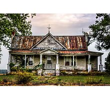 Tin Roof......RUSTED!  Photographic Print