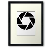diaphragme photo Framed Print