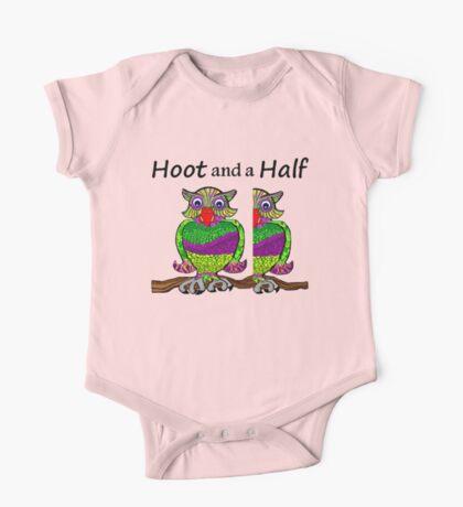 Owl Hoot and a Half One Piece - Short Sleeve
