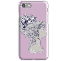 Marie Antoinette Rococo Ship hair iPhone Case/Skin