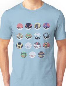 Pokemon Balls Unisex T-Shirt