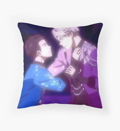 Yuri on Ice End Dance Scene Throw Pillow