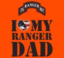 I LOVE MY RANGER DAD Kids Tee