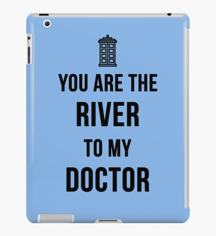 River+Doctor iPad Case/Skin