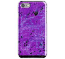 USGS TOPO Map California CA Sly Park 300538 1952 24000 geo Inverted iPhone Case/Skin