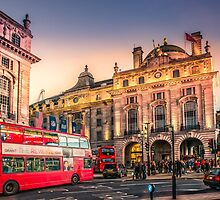 Piccadilly Circus by Dobromir Dobrinov