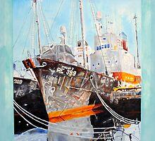 Icelandic Docks by trand07