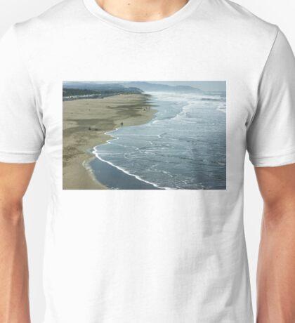 San Francisco Fog - Ocean Beach Rolling Surf Unisex T-Shirt