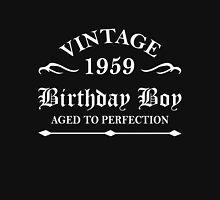 Vintage 1959 Birthday Boy Aged To Perfection Unisex T-Shirt