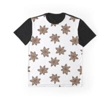 star anise pattern Graphic T-Shirt