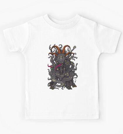 Black Goat of the Woods Kids Tee
