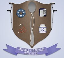 Spoonie Coat of Arms by PrettySickArt