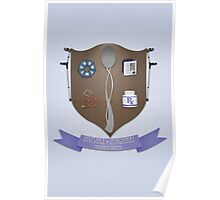 Spoonie Coat of Arms Poster