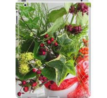 Winter Flowers iPad Case/Skin