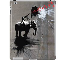 shooting butterflys iPad Case/Skin