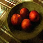 Bowl Full of Red by RC deWinter