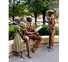 Sculpture Plaza Photographic Print