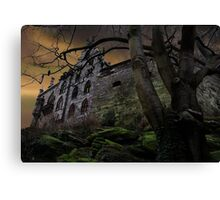 Once upon a midnight dreary... Canvas Print