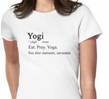 Yogi Definition Womens Fitted T-Shirt
