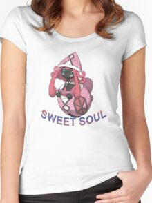 Pokemon /A TAPU LELE, THE SWEETIE (TAPU COLLECTION) Women's Fitted Scoop T-Shirt