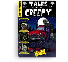 Tales From The Creepy Canvas Print