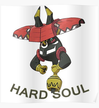 Pokemon /A TAPU BULU, THE BRAVE (TAPU COLLECTION) Poster