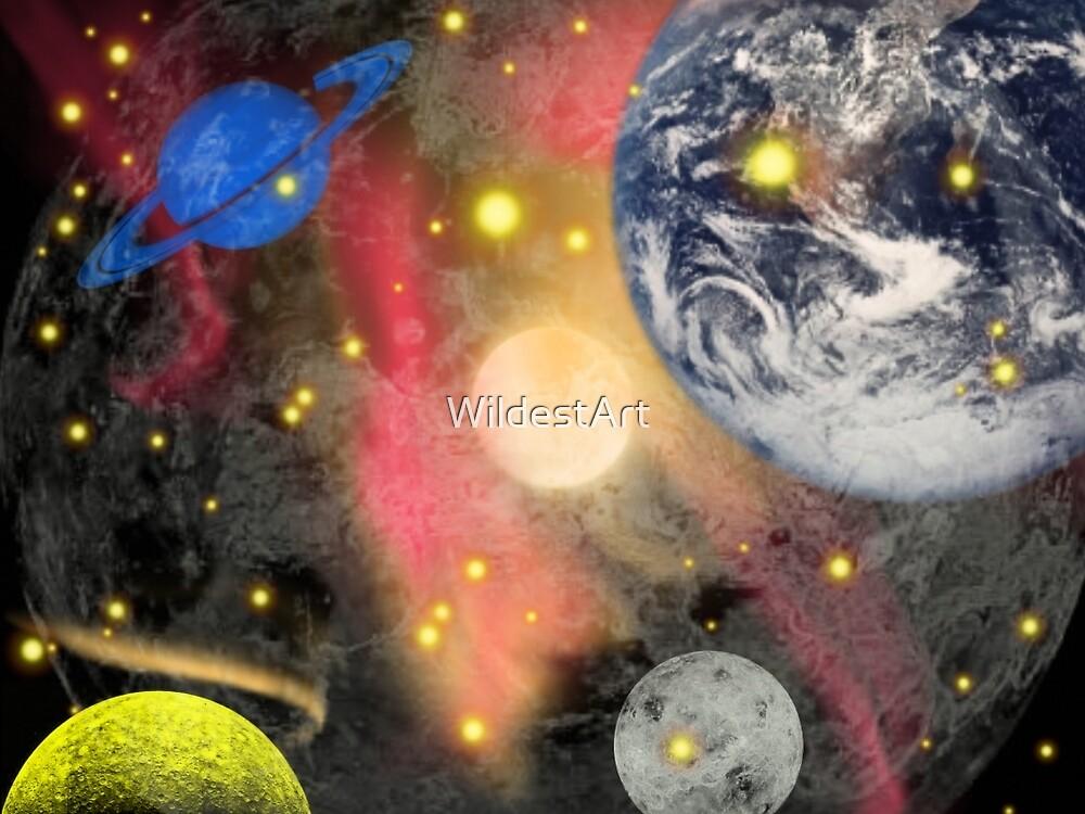 Space! by WildestArt