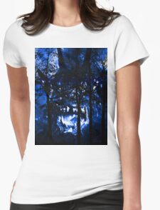 It's in the Trees! Womens Fitted T-Shirt