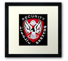 Firefly Alliance Security Framed Print