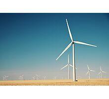 Winter Wind Turbines #9 Photographic Print