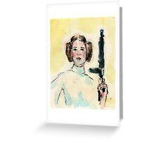 Leia. Greeting Card