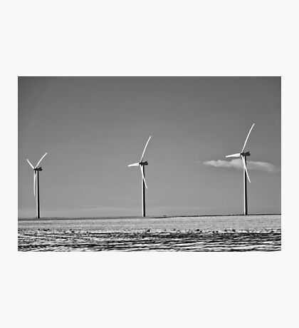 Winter Wind Turbines #10 Photographic Print