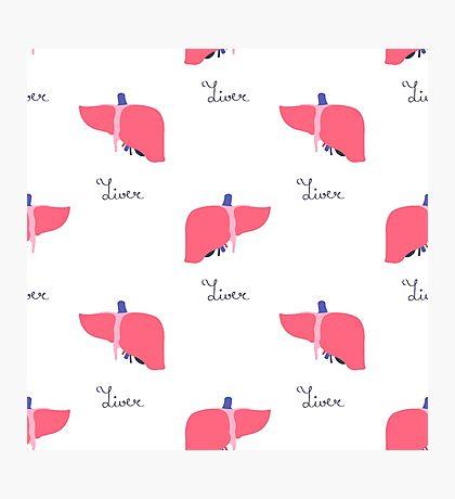 human liver pattern Photographic Print