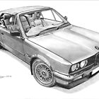BMW E30 325i Cabriolet (1990) by Steve Pearcy