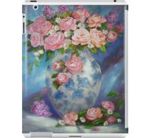 She Wanted Pink Roses iPad Case/Skin