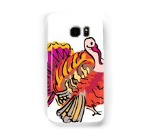 Multi colored graphic turkey Samsung Galaxy Case/Skin