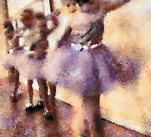 Childhood Memories: The Practice for Recital by Bunny Clarke