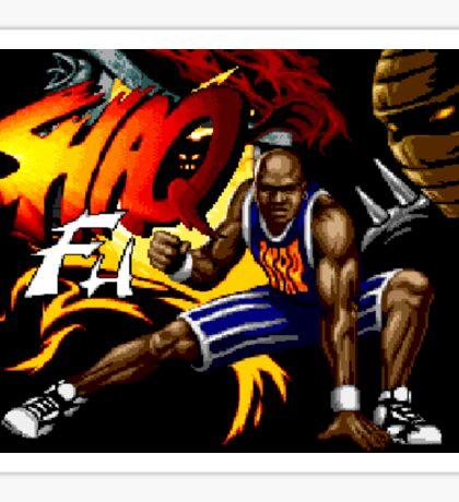 Shaq Fu (Genesis Title Screen) Sticker