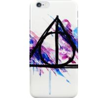 Hallows. iPhone Case/Skin