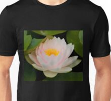 Pink Lotus with in pond. Unisex T-Shirt