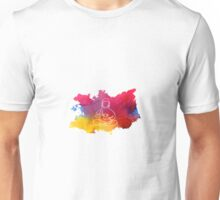 Buddha and Lotus Unisex T-Shirt