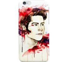 The boy who runs with wolves. iPhone Case/Skin