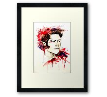 The boy who runs with wolves. Framed Print