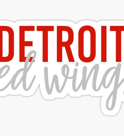Detroit Red Wings Sticker