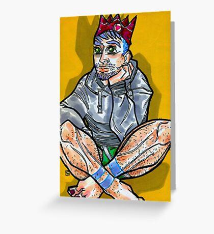 Scruffy Prince Greeting Card