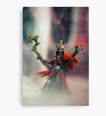 Lich - Reaper Miniatures Canvas Print