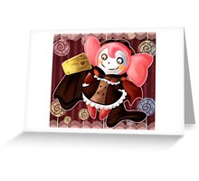 Dessert Witch Greeting Card
