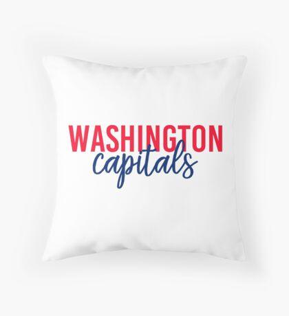 Washington Capitals Throw Pillow
