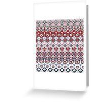 art pattern Greeting Card